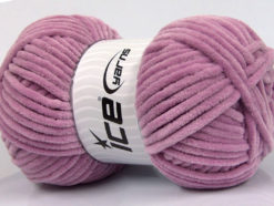 Lot of 4 x 100gr Skeins Ice Yarns CHENILLE BABY (100% MicroFiber) Yarn Orchid