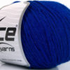 Lot of 4 Skeins Ice Yarns BABY ALPACA (55% Baby Alpaca 45% Superwash Extrafine Merino Wool) Yarn Blue