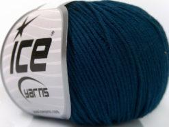 Lot of 4 Skeins Ice Yarns ORGANIC BABY COTTON (100% Organic Cotton) Yarn Navy