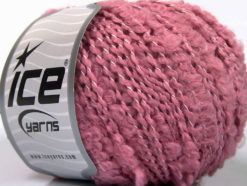 Lot of 8 Skeins Ice Yarns NODONE Hand Knitting Yarn Rose Pink