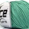 Lot of 4 Skeins Ice Yarns ORGANIC BABY COTTON (100% Organic Cotton) Yarn Emerald Green