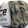 Lot of 8 Skeins Ice Yarns FIREWORKS (40% Wool) Yarn Grey Shades Camel Beige