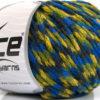 Lot of 8 Skeins Ice Yarns SALE WINTER (40% Wool) Yarn Blue Navy Green Yellow