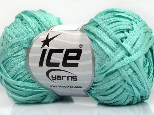 Lot of 8 Skeins Ice Yarns VIOLINO Hand Knitting Yarn Light MintGreen