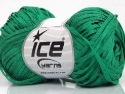 Lot of 8 Skeins Ice Yarns VIOLINO Hand Knitting Yarn Emerald Green