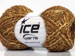 Lot of 8 Skeins Ice Yarns DOPPIO LANA (44% Wool) Hand Knitting Yarn Camel Brown