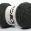 Lot of 3 x 100gr Skeins Ice Yarns BABY COMFORT Hand Knitting Yarn Dark Grey