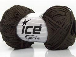 Lot of 8 Skeins Ice Yarns VIOLINO Hand Knitting Yarn Dark Brown
