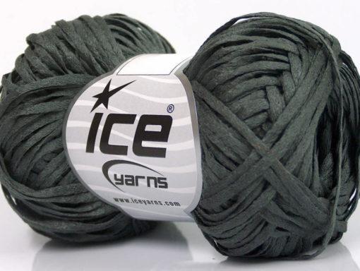 Lot of 8 Skeins Ice Yarns VIOLINO Hand Knitting Yarn Dark Green
