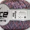 Lot of 6 Skeins Ice Yarns VISCOSE STAR (85% Viscose) Yarn Pink Blue