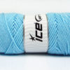 Lot of 4 x 100gr Skeins Ice Yarns SAVER 100 Hand Knitting Yarn Light Blue