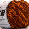 Lot of 8 Skeins Ice Yarns FLAMME DUO Hand Knitting Yarn Copper Gold