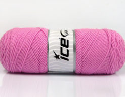 Lot of 4 x 100gr Skeins Ice Yarns BONITO (50% Wool) Yarn Light Pink