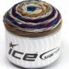 Lot of 3 x 100gr Skeins Ice Yarns CAKES BLUES Yarn Blue Purple Camel