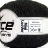 Lot of 6 Skeins Ice Yarns Trellis MINI LADDER Hand Knitting Yarn Black