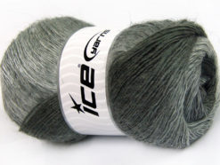 Lot of 4 x 100gr Skeins Ice Yarns ALPACA ACTIVE (20% Alpaca 20% Wool) Yarn Grey Shades