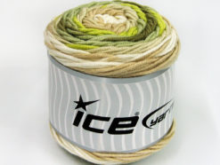 Lot of 3 x 100gr Skeins Ice Yarns CAKES BLUES Yarn Green Shades Cream Beige