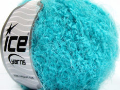 Lot of 8 Skeins Ice Yarns POLAR SOFT Hand Knitting Yarn Turquoise