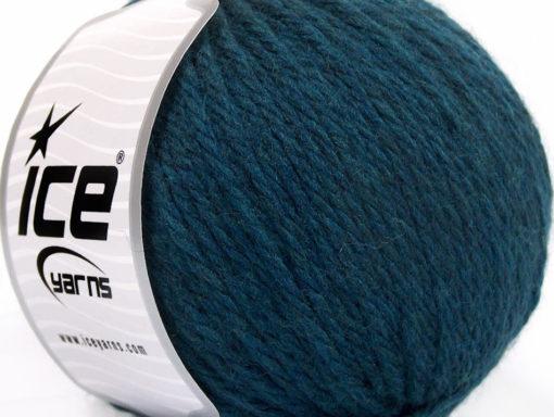 Lot of 3 x 100gr Skeins Ice Yarns SUPERBULKY WOOL (40% Wool) Yarn Navy