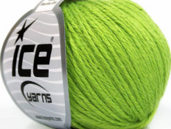 Lot of 6 Skeins Ice Yarns BABY MERINO DK (40% Merino Wool) Yarn Green