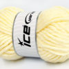 Lot of 4 x 100gr Skeins Ice Yarns SALE WINTER (40% Wool) Yarn Light Yellow