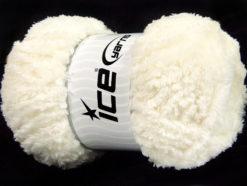 Lot of 4 x 100gr Skeins Ice Yarns PANDA (100% MicroFiber) Yarn Cream
