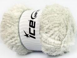 Lot of 4 x 100gr Skeins Ice Yarns PANDA (100% MicroFiber) Yarn Light Grey
