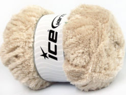 Lot of 4 x 100gr Skeins Ice Yarns PANDA (100% MicroFiber) Yarn Beige