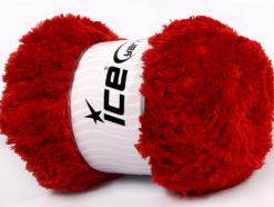 Lot of 4 x 100gr Skeins Ice Yarns PANDA (100% MicroFiber) Yarn Red