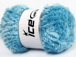 Lot of 4 x 100gr Skeins Ice Yarns PANDA (100% MicroFiber) Yarn Light Blue