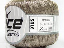 Lot of 6 Skeins Ice Yarns SALE SUMMER (80% Viscose) Hand Knitting Yarn Beige