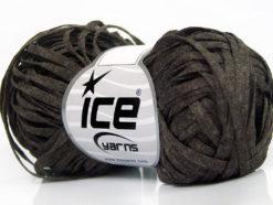 Lot of 8 Skeins Ice Yarns VISCOSE SHINE BULKY (82% Viscose) Yarn Dark Camel