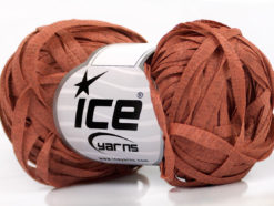 Lot of 8 Skeins Ice Yarns VIOLINO Hand Knitting Yarn Copper