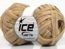 Lot of 8 Skeins Ice Yarns BINARIO Hand Knitting Yarn Light Beige