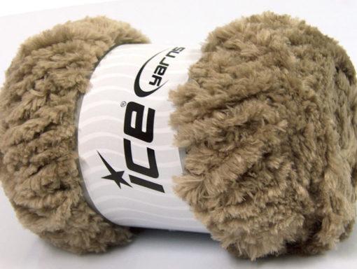 Lot of 4 x 100gr Skeins Ice Yarns PANDA (100% MicroFiber) Yarn Camel