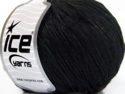 Lot of 8 Skeins Ice Yarns WOOL DROPS (50% Wool) Hand Knitting Yarn Black