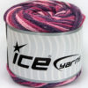 Lot of 2 x 150gr Skeins Ice Yarns CAKES AIR Yarn Purple Pink Shades