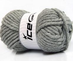 Lot of 4 x 100gr Skeins Ice Yarns ATLAS SUPERBULKY Hand Knitting Yarn Grey