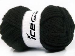 Lot of 4 x 100gr Skeins Ice Yarns ATLAS SUPERBULKY Hand Knitting Yarn Black