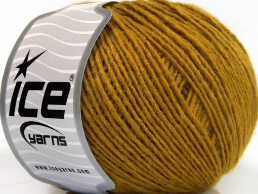 Lot of 8 Skeins Ice Yarns SALE PLAIN Hand Knitting Yarn Olive Green