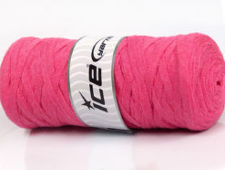250 gr ICE YARNS JUMBO COTTON RIBBON (100% Recycled Cotton) Yarn Pink