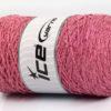 250 gr ICE YARNS MACRAME COTTON GLITZ (90% Cotton) Yarn Light Pink