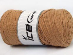250 gr ICE YARNS MACRAME COTTON (100% Cotton) Hand Knitting Yarn Cafe Latte