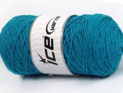 250 gr ICE YARNS MACRAME COTTON (100% Cotton) Hand Knitting Yarn Turquoise