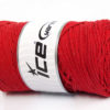 250 gr ICE YARNS MACRAME COTTON BULKY (100% Cotton) Hand Knitting Yarn Red