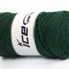 250 gr ICE YARNS MACRAME COTTON BULKY (100% Cotton) Yarn Dark Green