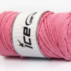 250 gr ICE YARNS MACRAME COTTON BULKY (100% Cotton) Yarn Baby Pink