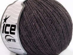 Lot of 8 Skeins Ice Yarns WOOL CORD SPORT (50% Wool) Hand Knitting Yarn Maroon