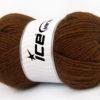 Lot of 4 x 100gr Skeins Ice Yarns ALPACA CLASSIC (25% Alpaca 25% Wool) Yarn Brown