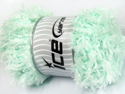 Lot of 2 x 200gr Skeins Ice Yarns LAMBKIN (100% MicroFiber) Yarn Mint Green